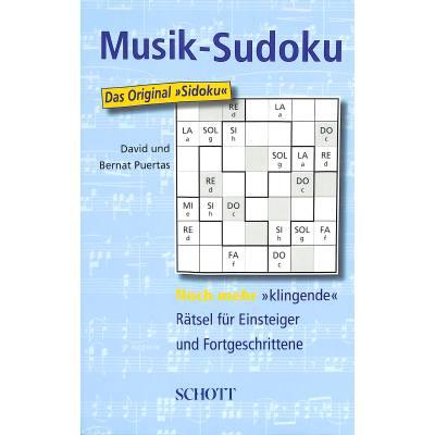 MUSIK SUDOKU - NOCH MEHR KLINGENDE RAETSEL