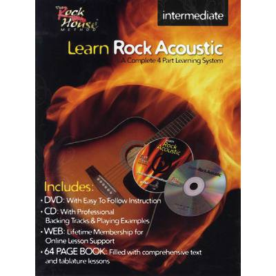 LEARN ROCK ACOUSTIC - INTERMEDIATE