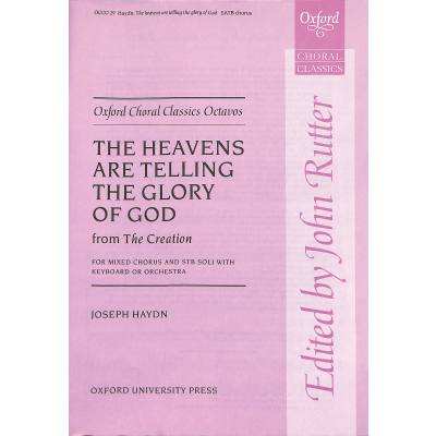 the-heavens-are-telling-the-glory-of-god