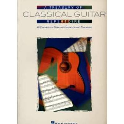 A TREASURY OF CLASSICAL GUITAR REPERTOIRE