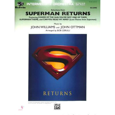 Superman returns selections