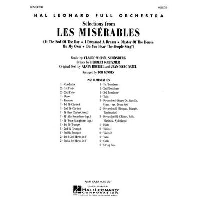 LES MISERABLES - SELECTIONS