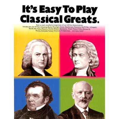 IT´S EASY TO PLAY CLASSICAL GREATS