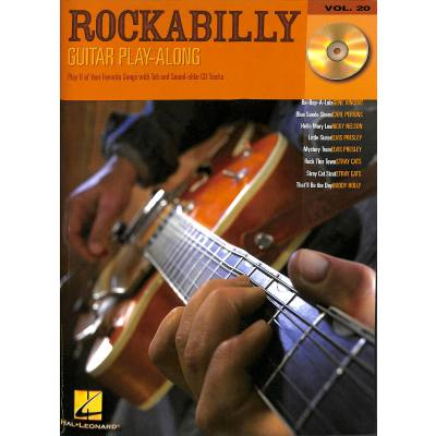 Rockabilly guitar play along