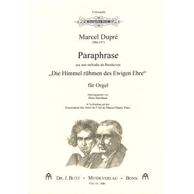 Paraphrase über eine Melodie von Beethoven