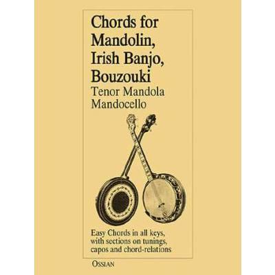 CHORDS FOR MANDOLIN IRISH BANJO BOUZOUKI