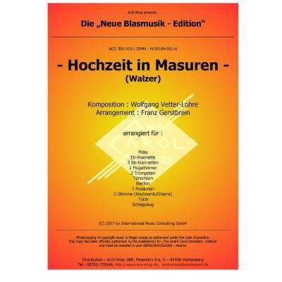 HOCHZEIT IN MASUREN