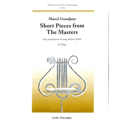 SHORT PIECES FROM THE MASTERS HARP