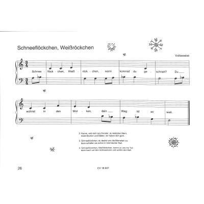 Noten Weihnachtslieder Klavier.Weihnachtslieder Fur Klavieranfanger
