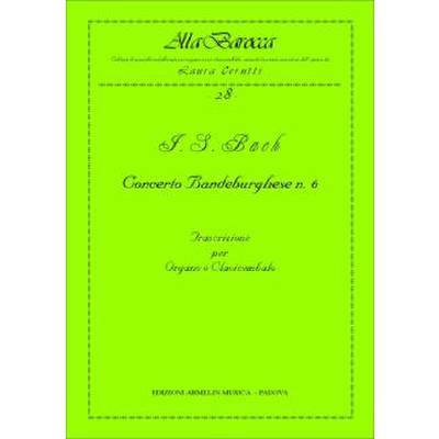 CONCERTO BRANDEBURGHESE 6 BWV 1051