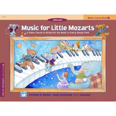 music-for-little-mozarts-music-lesson-book-1