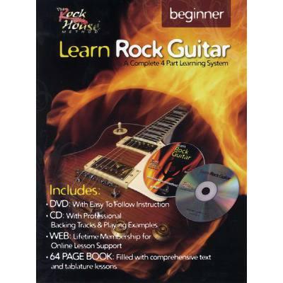LEARN ROCK GUITAR - BEGINNER