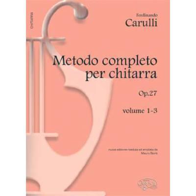 Metodo completo per chitarra op 27
