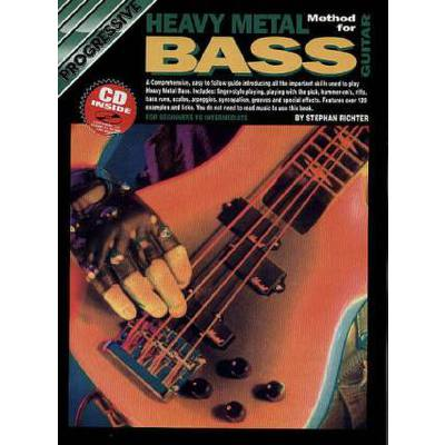 Progressive Heavy Metal bass guitar method