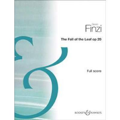 FALL OF THE LEAF (ELEGY) OP 20