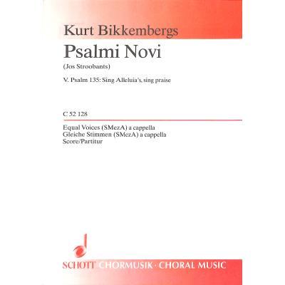 PSALMI NOVI - broschei