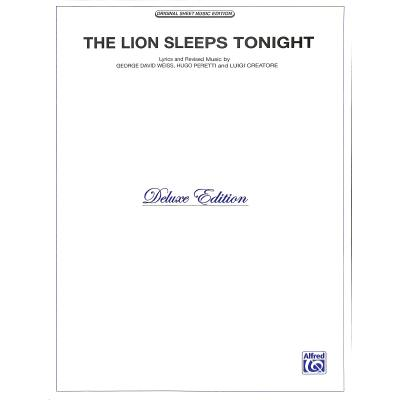 the-lion-sleeps-tonight, 5.95 EUR @ notenbuch-de