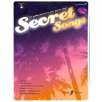 Faber Music Secret Songs/18 Guilty Pleasures + Cd - Pvg - broschei