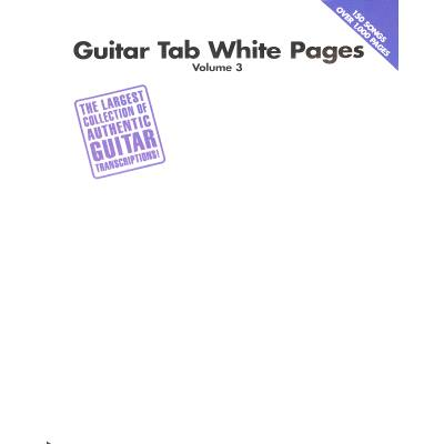 Guitar tab white pages 3