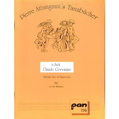 tanzbuch-6-claude-gervaise
