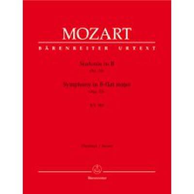 Sinfonie 33 B-Dur KV 319