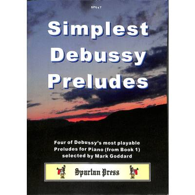Simplest Debussy Preludes
