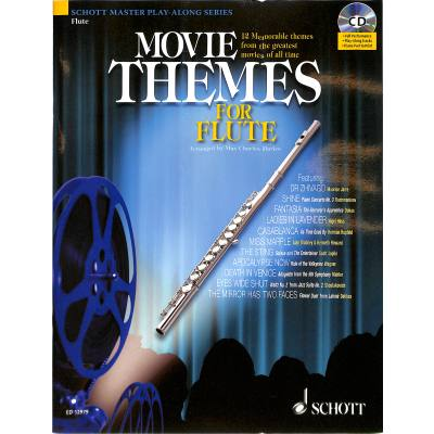 MOVIE THEMES FOR FLUTE - broschei
