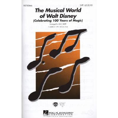 THE MUSICAL WORLD OF WALT DISNEY