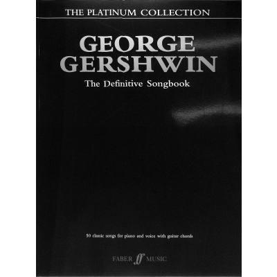 Faber Music Gershwin George - Platinum Collection Pvg - broschei