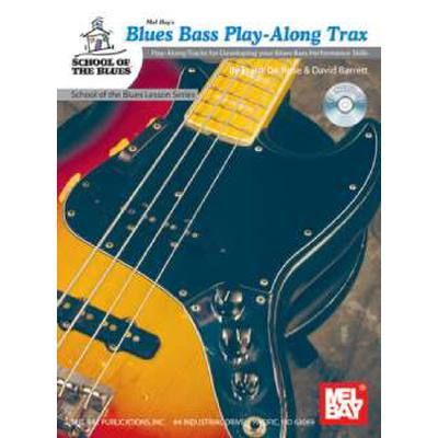 Blues bass play along trax