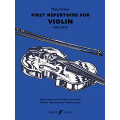 Faber Music Cohen Mary - First Repertoire For Violin And Piano jetztbilligerkaufen