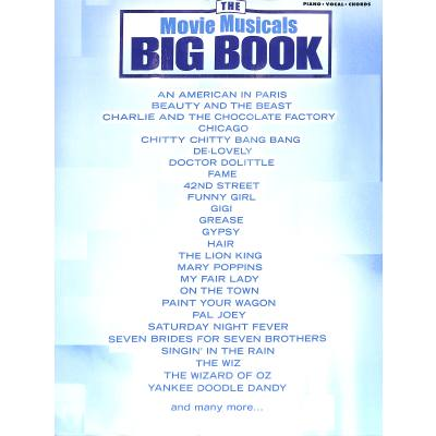 THE MOVIE MUSICALS BIG BOOK