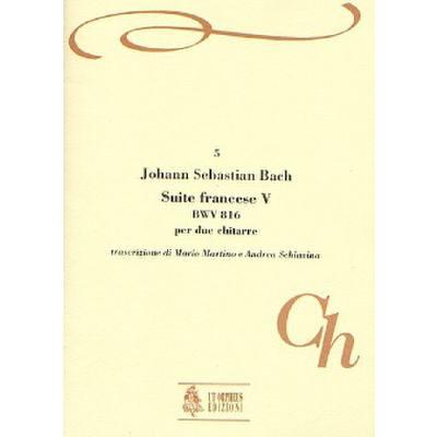 FRANZOESISCHE SUITE 5 BWV 816