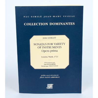 SONATA´S FOR VARIETY OF INSTRUMENTS 1