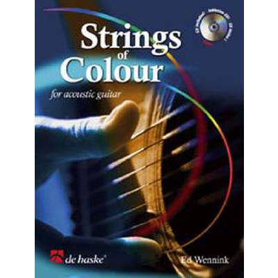 STRINGS OF COLOUR FOR ACOUSTIC GUITAR