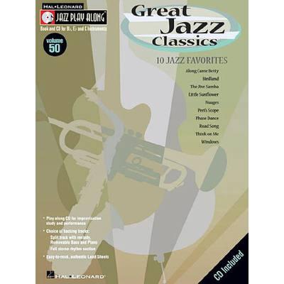 GREAT JAZZ CLASSICS - 10 JAZZ FAVORITES
