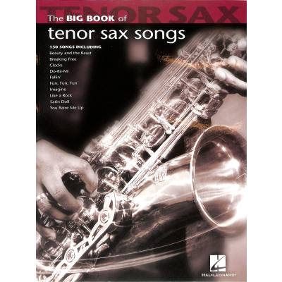 The big book of tenor sax songs