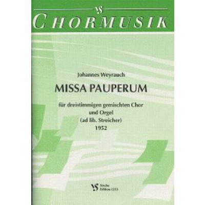 MISSA PAUPERUM (1952)