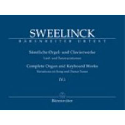 Saemtliche Orgel + Clavierwerke 4/1
