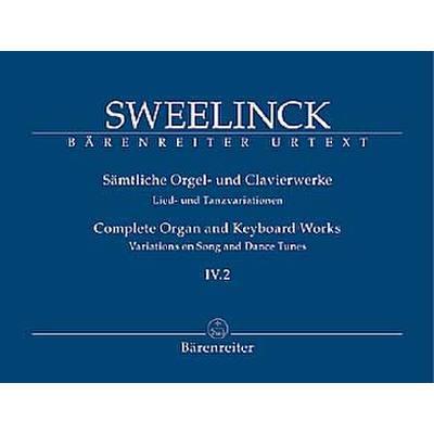 Saemtliche Orgel + Clavierwerke 4/2
