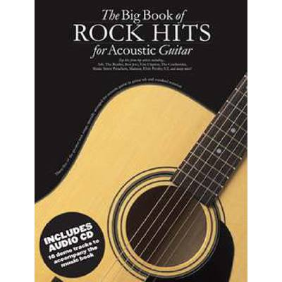 BIG BOOK OF ROCK HITS FOR ACOUSTIC HITS