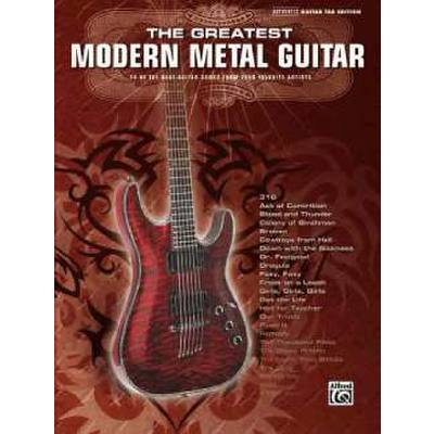 GREATEST MODERN METAL GUITAR