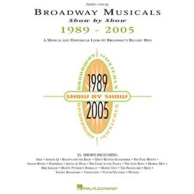 broadway-musicals-show-by-show-1989-2005, 20.50 EUR @ notenbuch-de