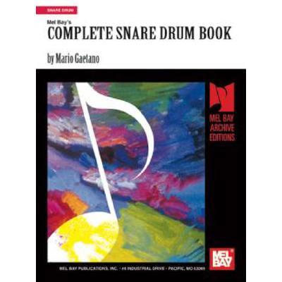 mel-bay-s-complete-snare-drum-book