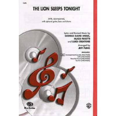 the-lion-sleeps-tonight, 3.50 EUR @ notenbuch-de