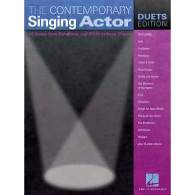 CONTEMPORARY SINGING ACTOR - DUETS EDITION