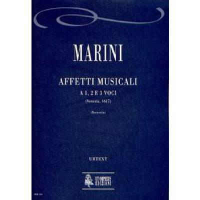 AFFETTI MUSICALI A 1 2 + 3 VOCI