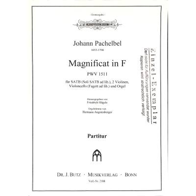magnificat-f-dur-pwv-1511, 16.00 EUR @ notenbuch-de