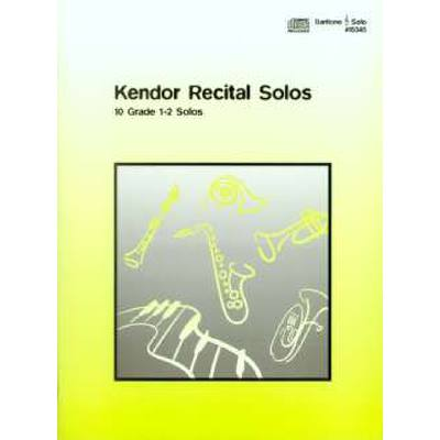 kendor-recital-solos
