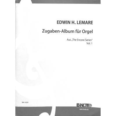 Zugaben Album Fuer Orgel 1